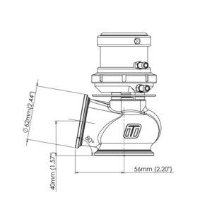 Turbosmart เวสเกต Pro-gate50 WG50