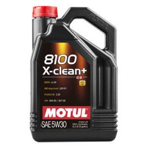 น้ำมันเครื่อง Motul X-clean 5W30