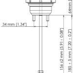 TS-0601-3141 EVO 10 general dimensions REV 2