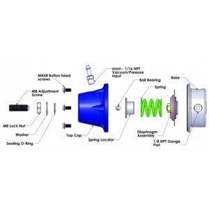 ส่วนประกอบ Turbosmart Fuel Regulator TS-0401-1003