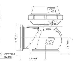 Turbosmart Hypergate WG45 เวสเกต